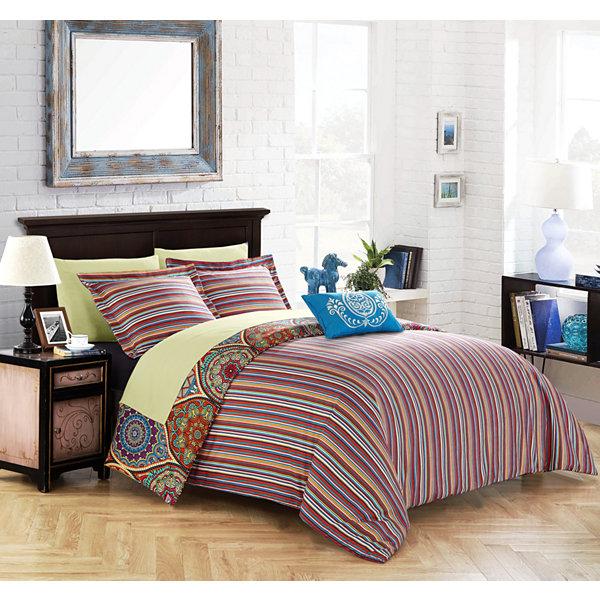 Chic Home Chennai 8-pc. Comforter Set