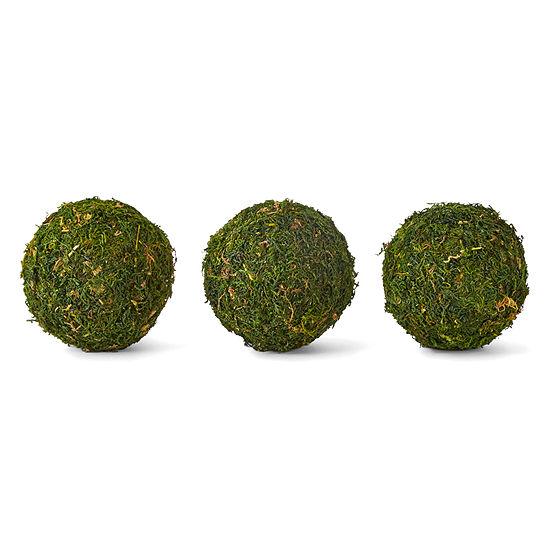 JCPenney Home Moss Filler Decorative Balls