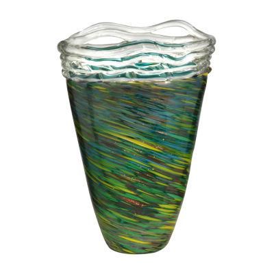 Dale Tiffany Raggio Art Glass Vase