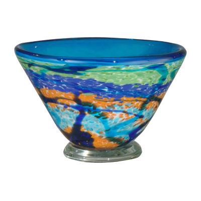 Dale Tiffany Travela Art Glass Bowl