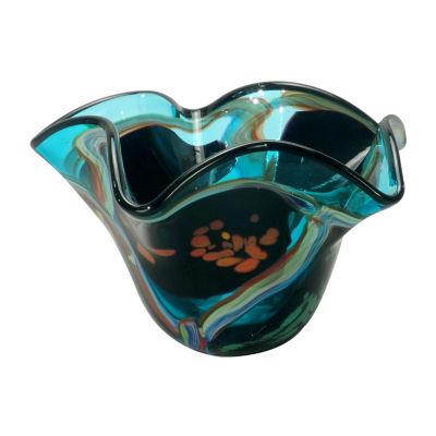 Dale Tiffany Sanita Art Glass Bowl
