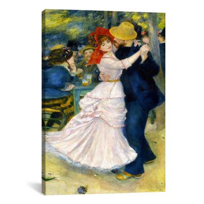 Dance at Bougival by Pierre-Auguste Renoir CanvasPrint