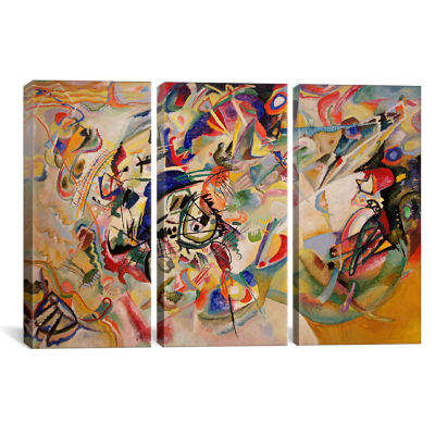 Composition VII by Wassily Kandinsky Canvas Print