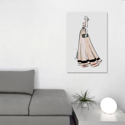 Rose Gold by Cate Odson Canvas Print