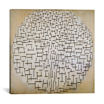 Pier & Ocean by Piet Mondrian Canvas Print