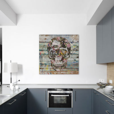 Under The Watchful Eye (Skull) by Diego Tirigall Canvas Print