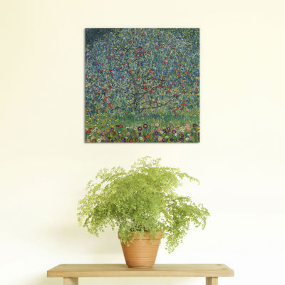 Apfelbaum (Apple Tree) by Gustav Klimt Canvas Print