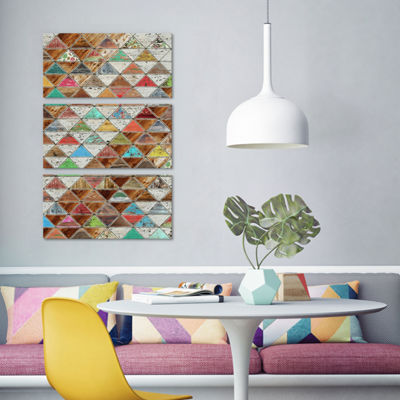 Love Pattern by Diego Tirigall Canvas Print