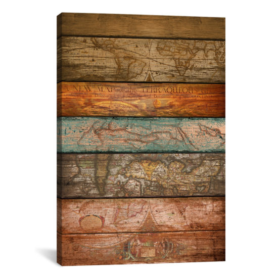 Mapas by Diego Tirigall Canvas Print