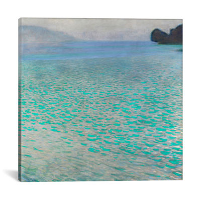 Attersee (Lake Attersee) by Gustav Klimt Canvas Print