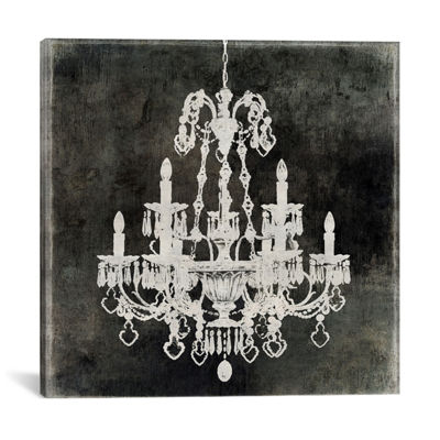 Chandelier II by Oliver Jeffries Canvas Print