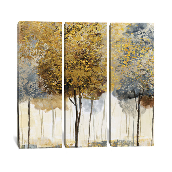 Metallic Forest I by Nan Canvas Print