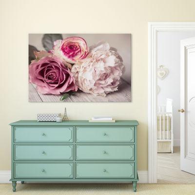 Bouquet by Symposium Design Canvas Print