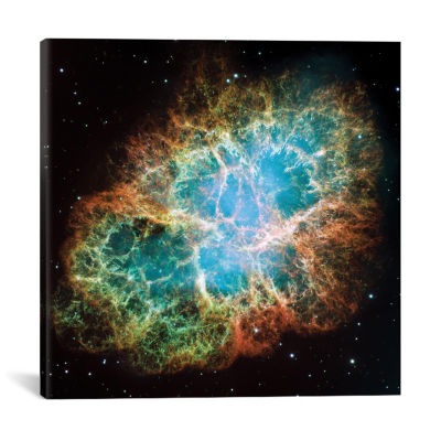Extreme Detail; Crab Nebula; Messier 1 by NASA Canvas Print