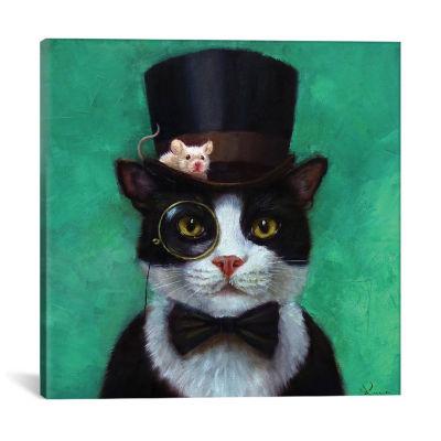 Tuxedo Cat by Lucia Heffernan Canvas Print