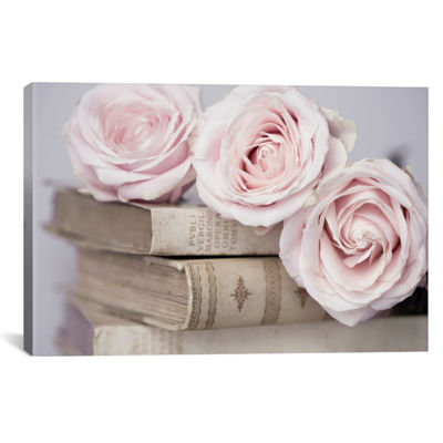 Vintage Roses by Symposium Design Canvas Print