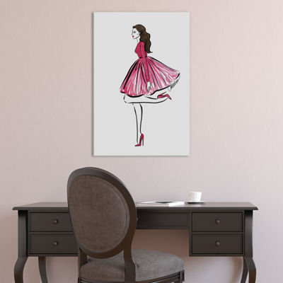 Flamingo by Cate Odson Canvas Print