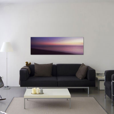 Ocean at sunset; Los Angeles County; California; USA by Panoramic Images Canvas Print