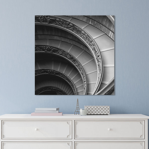 Spiral Staircase I by PhotoINC Studio Canvas Print
