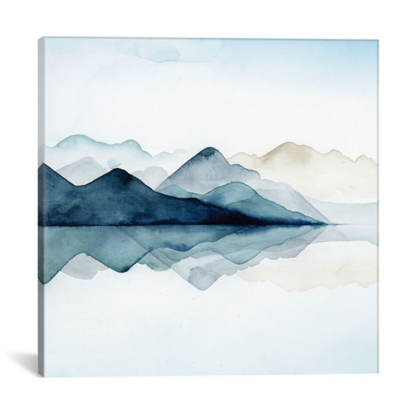 Glacial I by Grace Popp Canvas Print