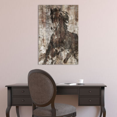Galloping Horse by Irena Orlov Canvas Print