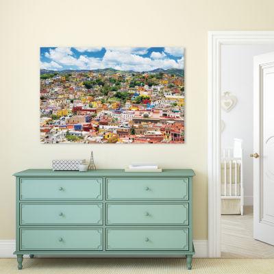 Cityscape Of Guanajuato by Philippe Hugonnard Canvas Print