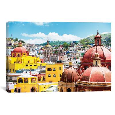 Guanajuato Architecture by Philippe Hugonnard Canvas Print