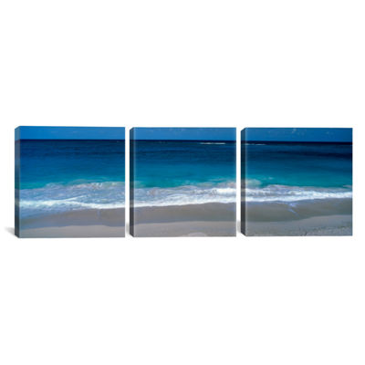 Waters Edge Barbados Caribbean by Panoramic ImagesCanvas Print