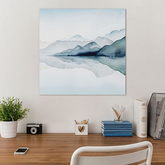 Glacial II by Grace Popp Canvas Print