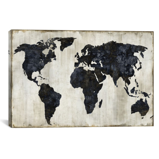 The World II by Russell Brennan Canvas Print