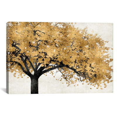 Golden Blossoms by Kate Bennett Canvas Print