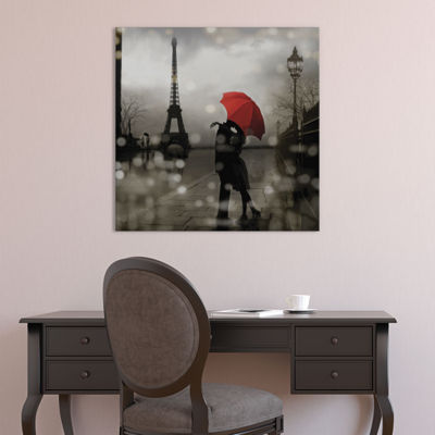 Paris Romance by Kate Carrigan Canvas Print