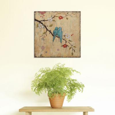 Love Birds II by Katy Frances Canvas Print
