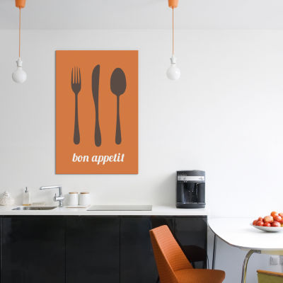 Bon Appetit by iCanvas Canvas Print