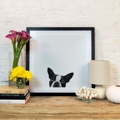 Loyalty by Jon Bertelli Black Framed Fine Art Paper Print