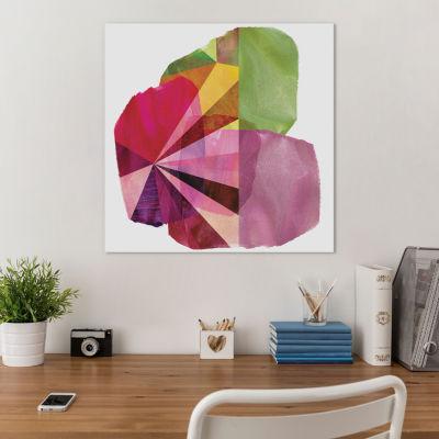 Geo Mono Block I by Sisa Jasper Canvas Print
