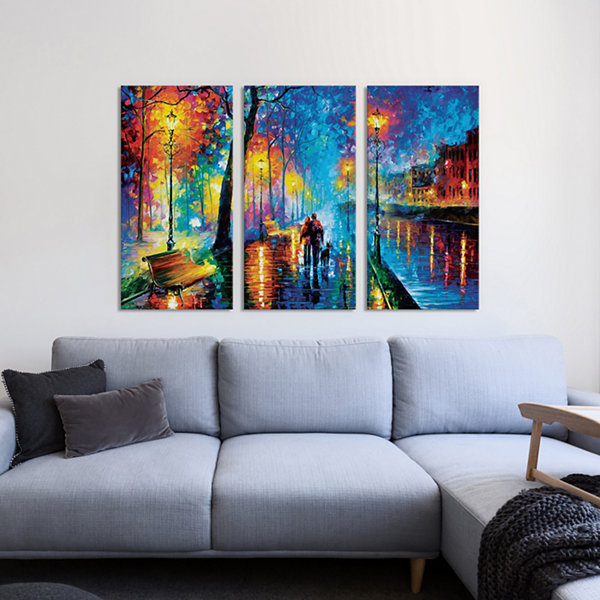 Melody Of The Night by Leonid Afremov Canvas Print