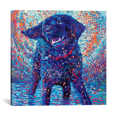 Canines & Color by Iris Scott Canvas Print
