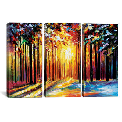 Sun Of January by Leonid Afremov Canvas Print