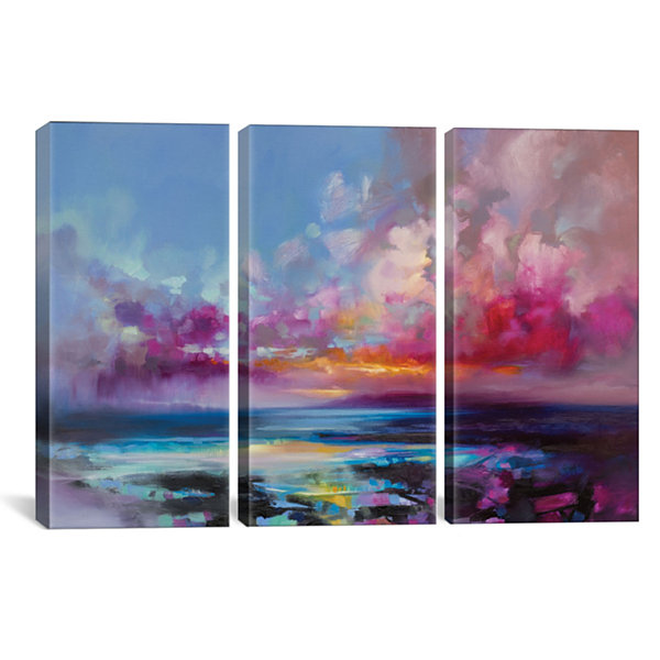 Arran Glow by Scott Naismith Canvas Print