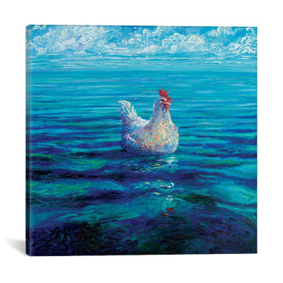 Chicken Of The Sea by Iris Scott Canvas Print