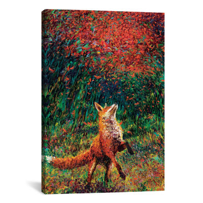 Fox Fire by Iris Scott Canvas Print