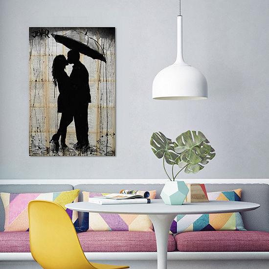 Rain Lovers by Loui Jover Canvas Print