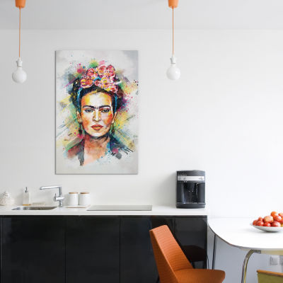 Frida Kahlo by Tracie Andrews Canvas Print