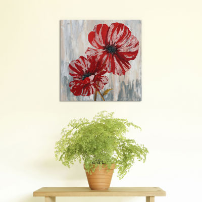Red Poppies II from Willow Way StudiosInc collection by Willow Way Studios; Inc. Canvas Print