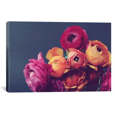 Deep Blooms by Lupen Grainne Canvas Print