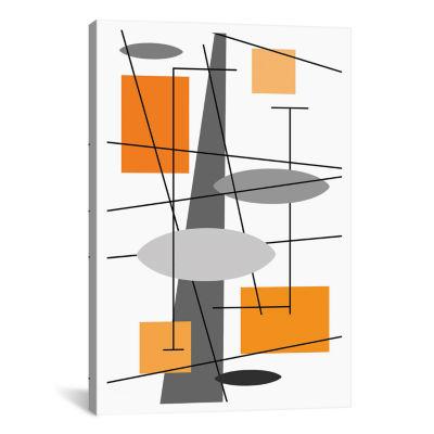 Rauth In Orange by Tonya Newton Canvas Print