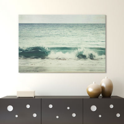 Glass Wave by Lupen Grainne Canvas Print