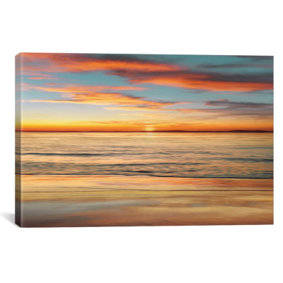 Surf And Sand by John Seba Canvas Print