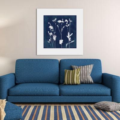 Cyanotype Botanical I by Carol Robinson Canvas Print